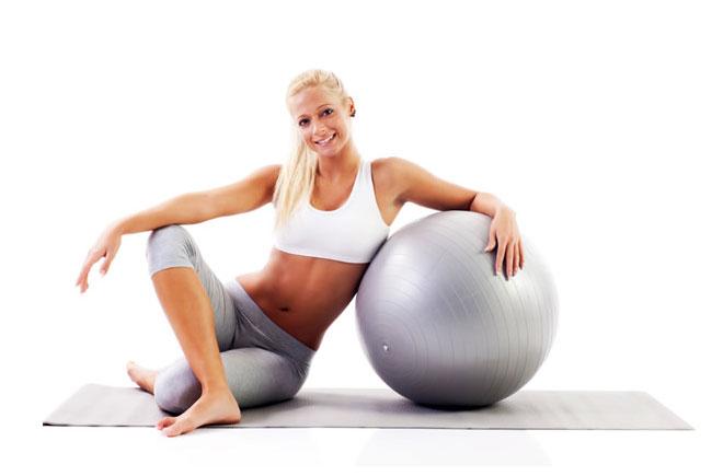 exercice abdo avec ballon 4 exercices. Black Bedroom Furniture Sets. Home Design Ideas