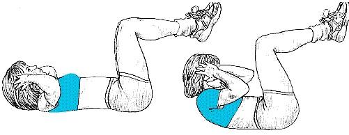 Exercice abdo facile sans mat riel chez soi for Abdo fessiers exercices a la maison