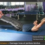 exercices d'abdos faciles
