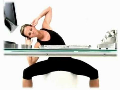 4 exercices d 39 abdos au bureau exercice abdo fr. Black Bedroom Furniture Sets. Home Design Ideas