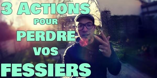 Comment Maigrir des Fessiers : Les 3 Actions !