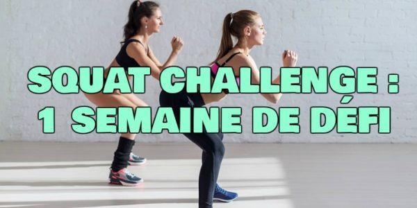 Squat Challenge pour Maigrir : 1 Semaine de Défi !